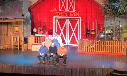 Fun at the Hatfield and McCoy Dinner Show