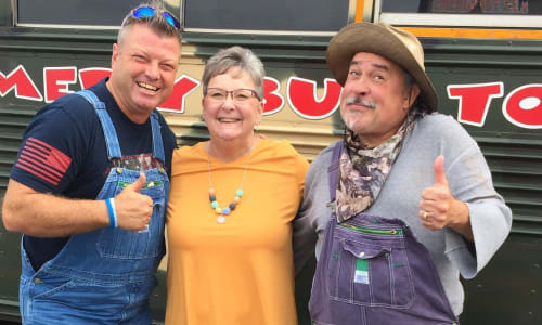 Guest at The Redneck Comedy Bus Tour Smokies