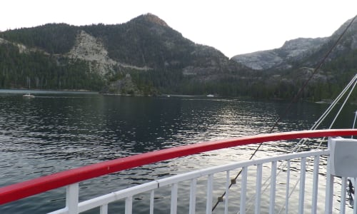 Emerald Bay with the M.S. Dixie II Sightseeing and Sunset Dinner Cruises
