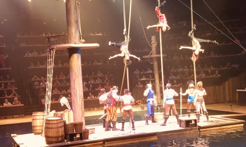 Pirates Performing at Pirates Voyage Dinner and Show Pigeon Forge