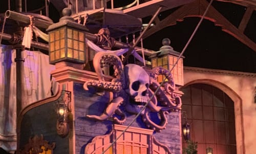 Ship with Planks at Pirates Voyage Dinner and Show Pigeon Forge