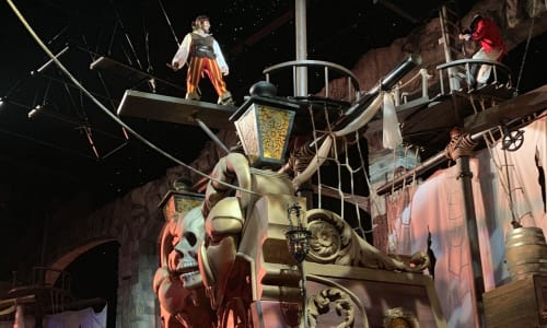 Exciting Action at Pirates Voyage Dinner and Show Pigeon Forge