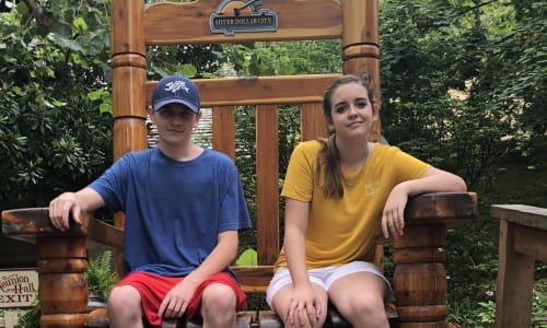 In the Chair at Silver Dollar City