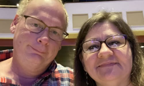 Couple Selfie at the Showboat Branson Belle Lunch and Dinner Cruises