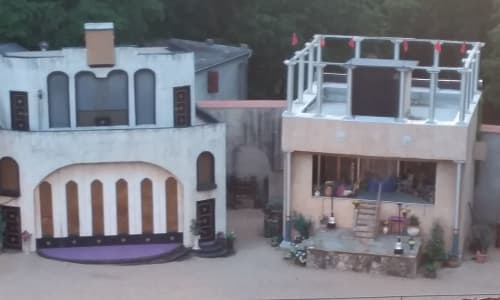 Set and Seats at the Great Passion Play