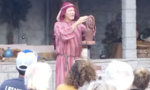 Watching the Great Passion Play