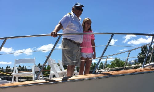 Enjoying Time on the Lake Tahoe Sightseeing and Lunch Cruises Aboard the Bleu Wave