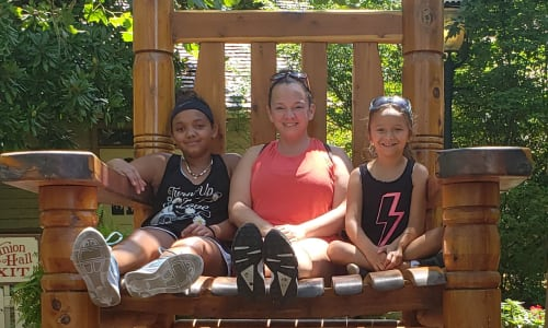 In the Giant Chair at Silver Dollar City