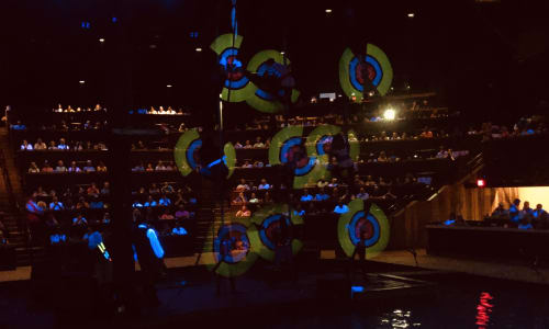 Neon Dancing at Pirates Voyage Dinner and Show Pigeon Forge