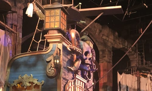 Ships at Pirates Voyage Dinner and Show Pigeon Forge