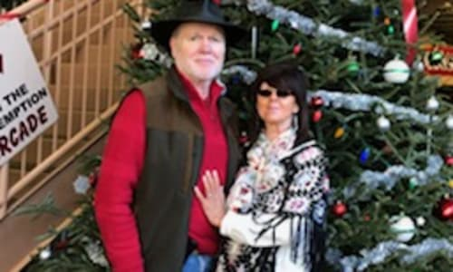 Couple at The Christmas Story at the Biblical Times Dinner Theater