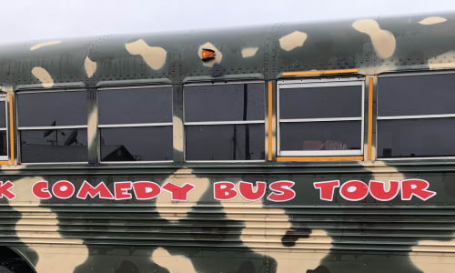 Have Fun on the Redneck Comedy Bus