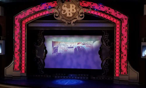 Stage on the Showboat Branson Belle Lunch and Dinner Cruises