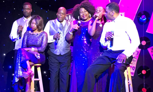 Cast Performing at Motor City Musical A Tribute to Motown