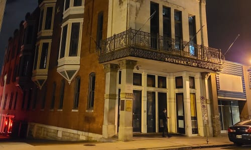 Southern Turf on the Nashville Ghost Tour