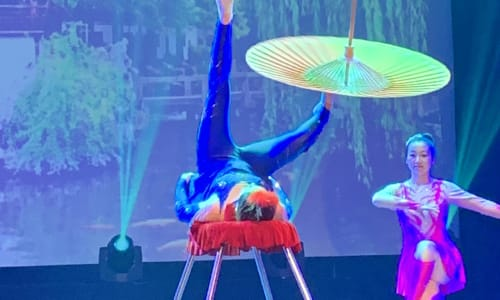 Incredible Skill at the Amazing Acrobats of Shanghai