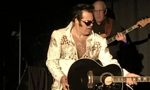 Elvis Playing at Tribute to the King: Thru the Years 53-77