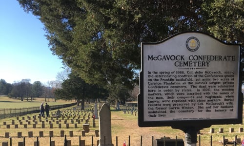 McGavock Confederate Cemetery on the Civil War Tour: The Battle of Franklin
