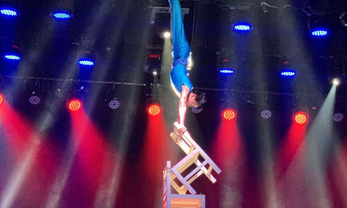 Amazing Chair Balance at the Amazing Acrobats of Shanghai