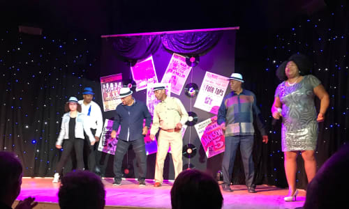 Dancing at Motor City Musical A Tribute to Motown