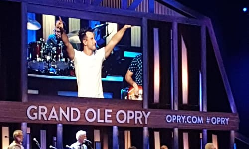 Performance at the Grand Ole Opry Country Music Show Nashville