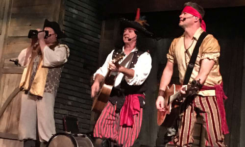 Band Performs at Pirates Voyage Dinner and Show