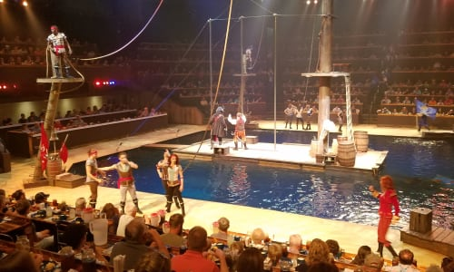 Performers at Pirates Voyage Dinner and Show Pigeon Forge
