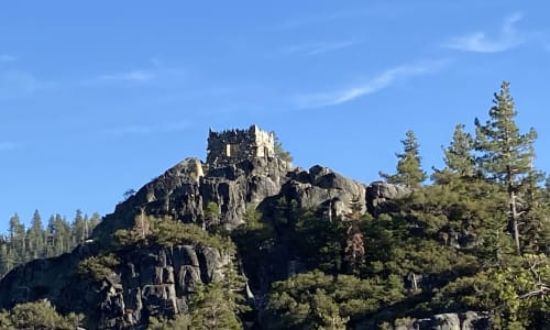 Castle at Lake Tahoe Sightseeing Cruises Aboard the Bleu Wave