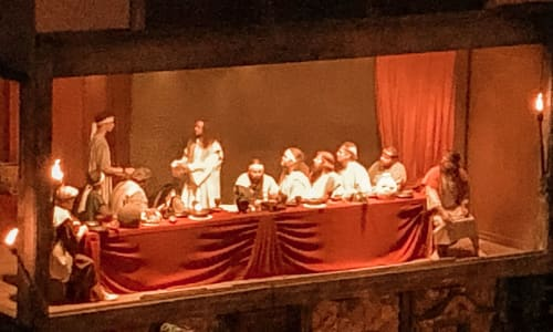 Last Supper at the Great Passion Play