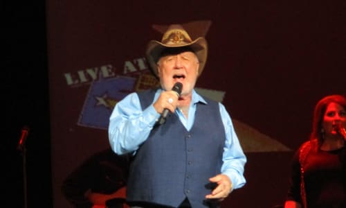Singing at Mickey Gilley and Johnny Lee Urban Cowboy Reunion Show