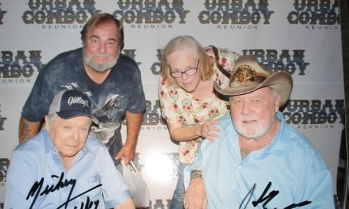 Autographed Photo from the Mickey Gilley and Johnny Lee Urban Cowboy Reunion Show
