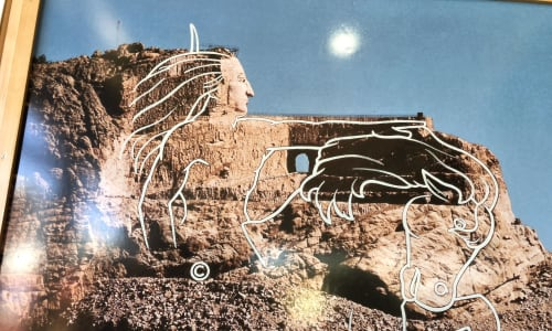 Crazy Horse Memorial on the Mount Rushmore and Black Hills Tour