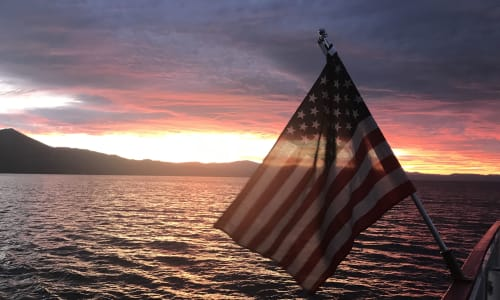 Sunsets on the M.S. Dixie II Sightseeing and Sunset Dinner Cruises