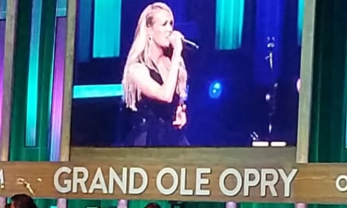 Carrie Underwood at Grand Ole Opry Country Music Show