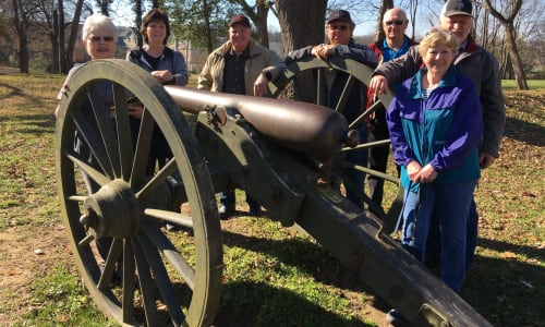 Canon on the Civil War Tour: The Battle of Franklin
