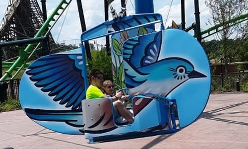 Ride at Dollywood Theme Park Tennessee