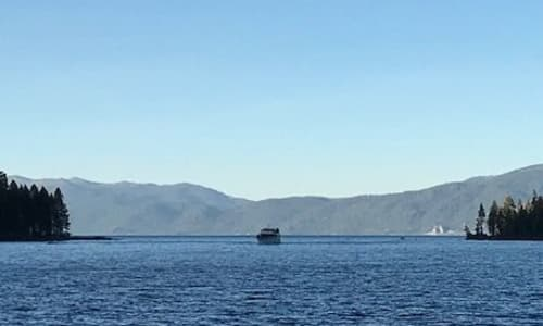 On the Lake with Lake Tahoe Sightseeing Cruises Aboard the Bleu Wave