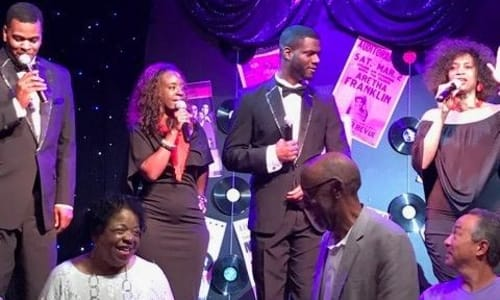 Cast at Motor City Musical A Tribute to Motown