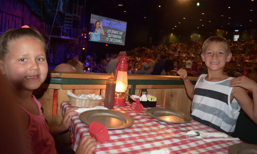 Hatfield and McCoy Dinner Show Missing 20