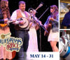 Bluegrass  BBQ Festival Collage at Silver Dollar City