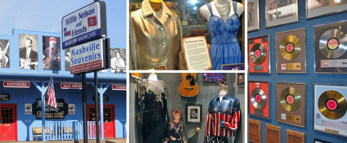 Willie Nelson & Friends Museum & General Store Collage