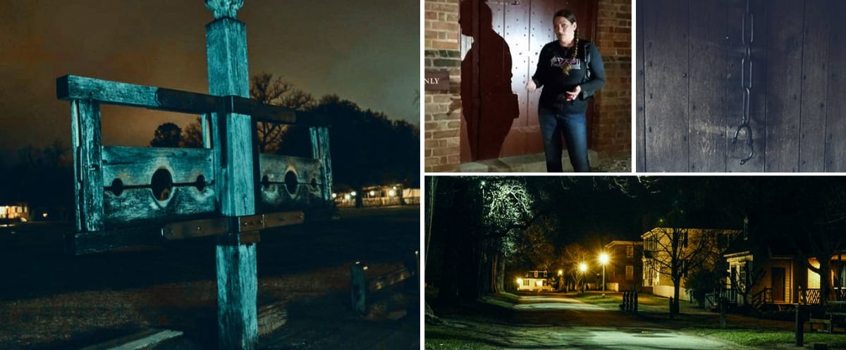 Explore during the Ultimate Williamsburg Ghost Tour