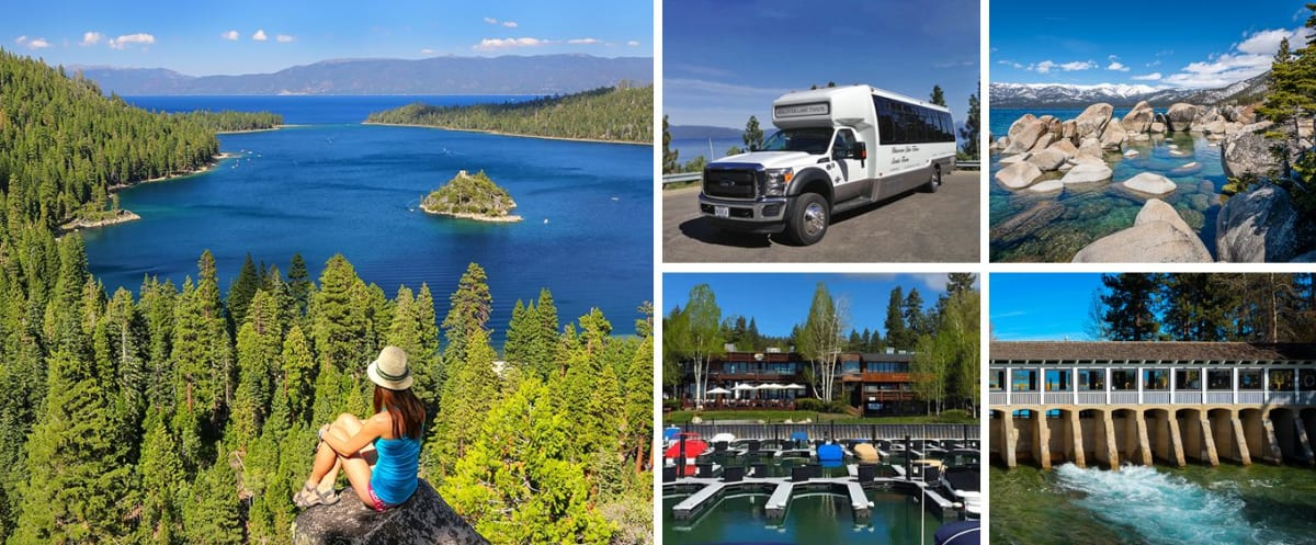 Collage for Around The Lake Tahoe Tour