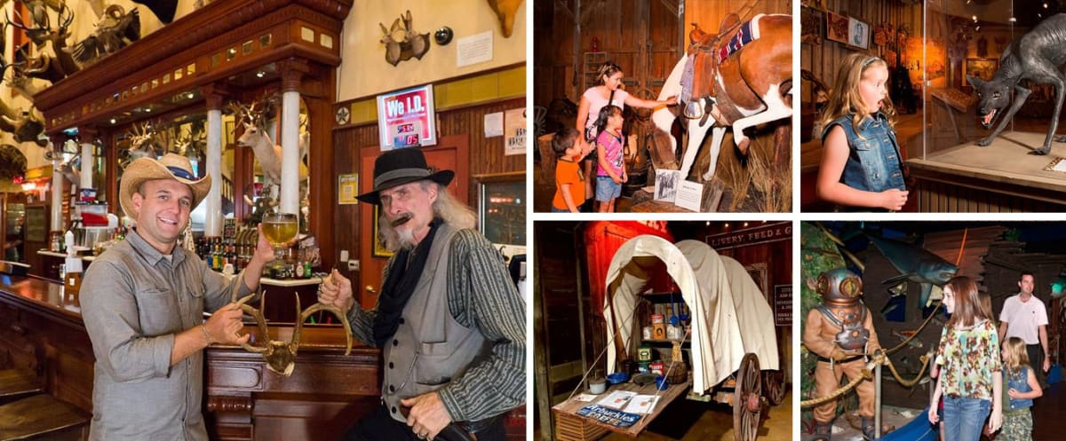 Buckhorn Saloon and Museum Collage