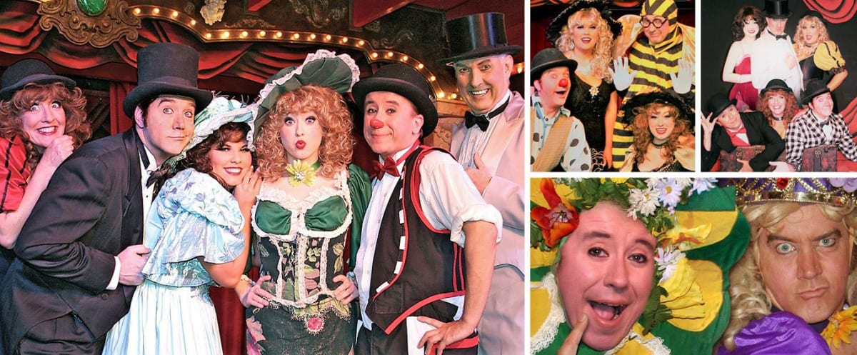 Sweet Fanny Adams Theatre Collage