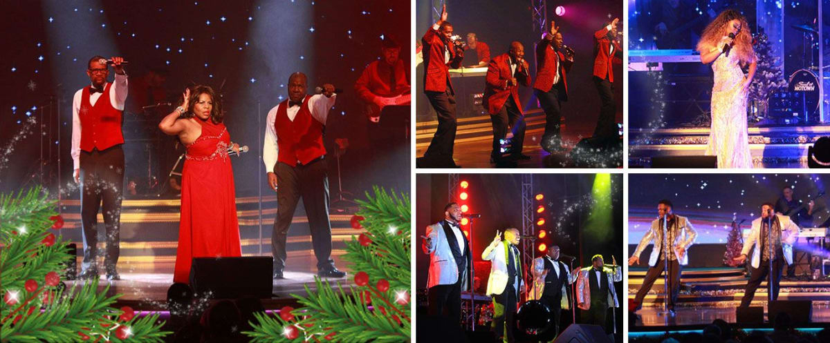 Soul of Motown Christmas Collage