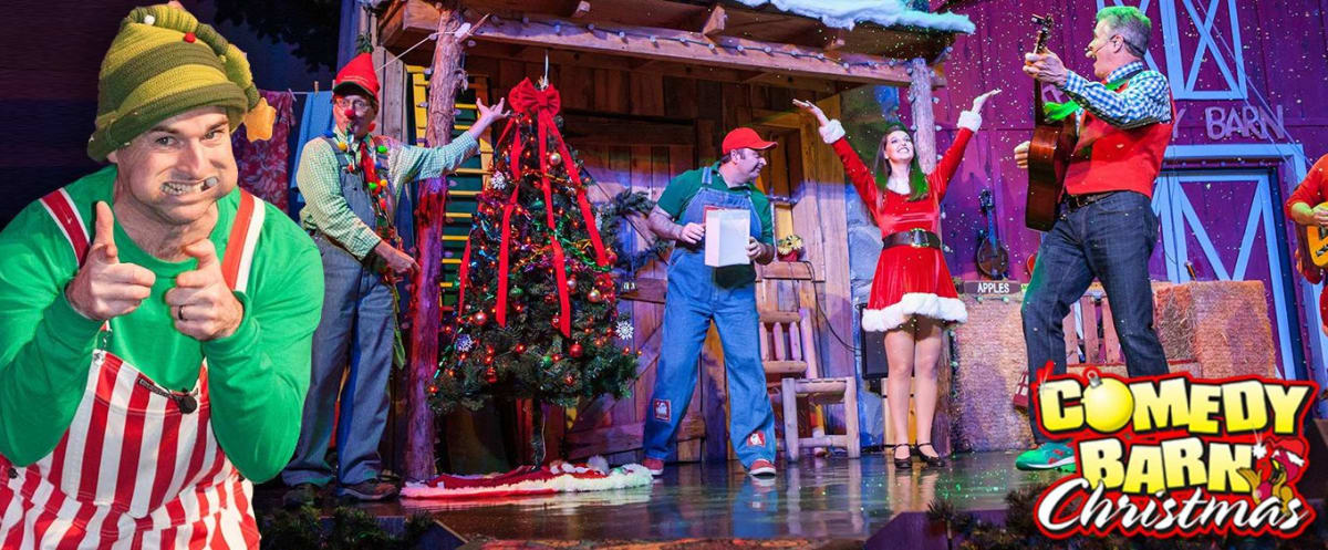 Christmas at Comedy Barn Pigeon Forge