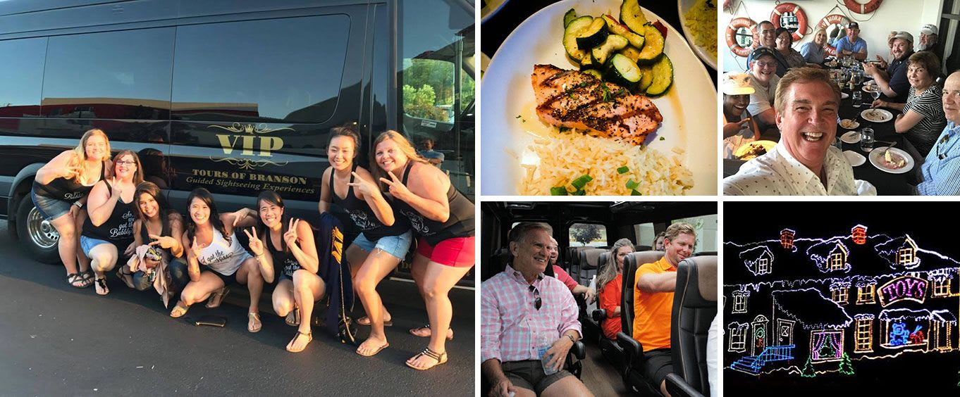 Discover Branson Luxury Mercedes Van Tour