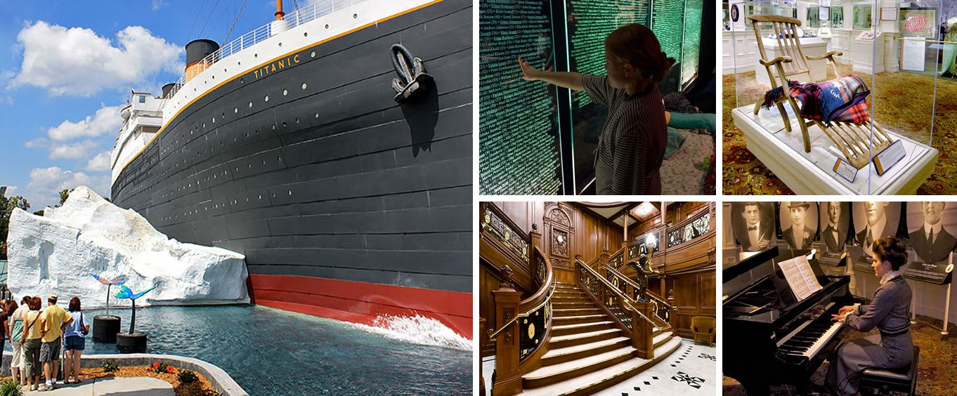 Branson Titanic - World's Largest Museum Attraction