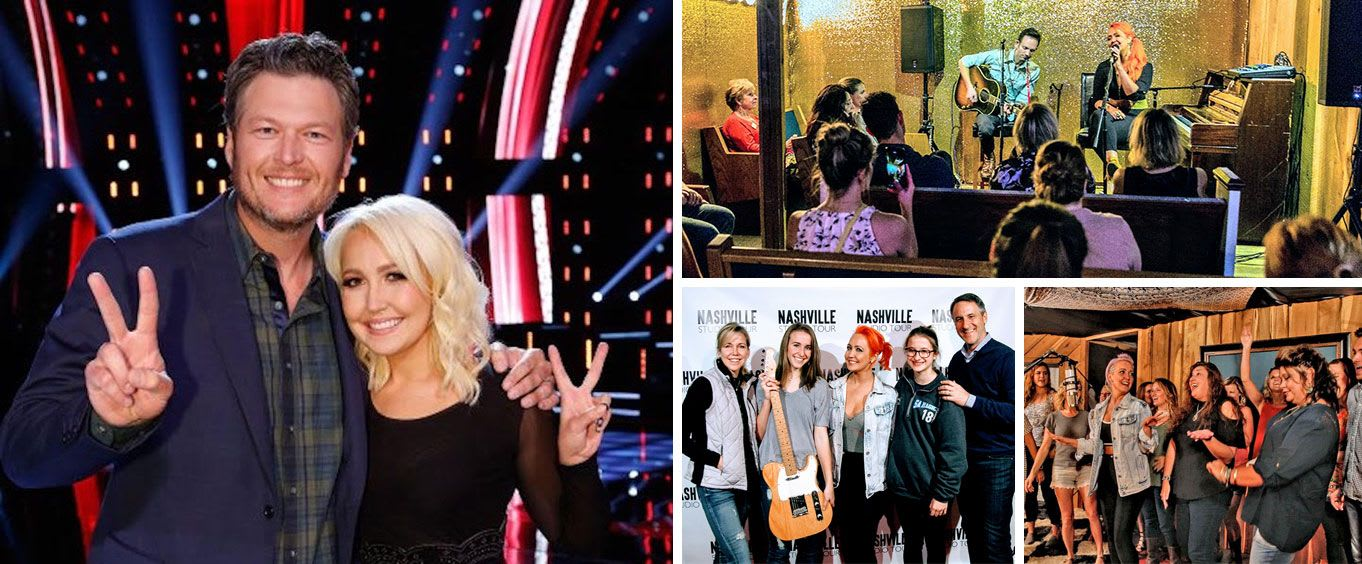 Intimate Recording Studio Show with NBC's The Voice Runner Up Meghan Linsey